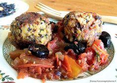 Boules de Picoulat (boulettes aux lentilles et haricots) vegan sans gluten