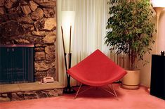 <3 Coconut Chair by George Nelson for Herman Miller, vintage
