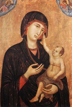 Madonna di Crevole (1283-1284 circa; Siena, Museo dell'Opera del Duomo)