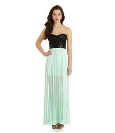 Available at Dillards.com #Dillards Love this color combo for evening dress!
