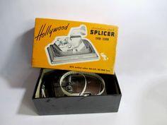 Vintage Film Splicer Hollywood Stainless by UrbanRenewalDesigns, $18.50