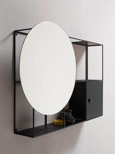 Minimal bathroom furniture designed by Danish studio Norm Architects.