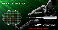 YONEX VOLTRIC Z-FORCE Badminton Shop, Badminton Racket, Tennis Racket, Power Training
