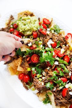 Slow Cooker Carne Asada This Slow Cooker Carne Asada is the perfect set it and forget it meal. On top of a salad nachos The post Slow Cooker Carne Asada appeared first on Lexi's Clean Kitchen. Keto Crockpot Recipes, Slow Cooker Recipes, Low Carb Recipes, Cooking Recipes, Healthy Recipes, Keto Foods, Keto Meal, Slow Cooking, Lexi's Clean Kitchen