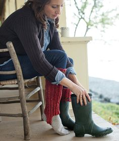 Cozy Boot Cuffs Pattern