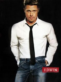 . Brad Pitt .