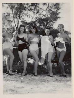 Hot milf big tits beach