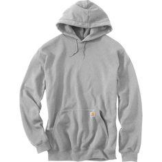 Carhartt Men's Midweight Hooded Sweatshirt - Big & Tall, Size: XXXL, Gray