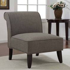 Sadie Slipper Brown Derby Accent Chair - Overstock™ Shopping - Great Deals on Living Room Chairs