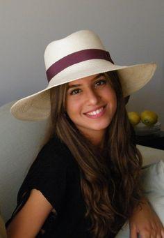 Genuine White/Ivory Fedora panama hat - long brim straw sun hat - women's off white summer hat - ladie's sun hat - Bar Refaeli hat by RanaHats on Etsy https://www.etsy.com/listing/188796818/genuine-whiteivory-fedora-panama-hat