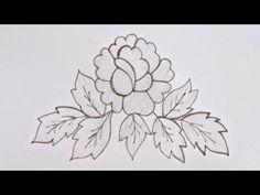 Beautiful Flower Designs, Beautiful Flowers, Aluminum Foil Art, Flower Embroidery Designs, Mehndi Art, Design Tutorials, Stitches, Floral, Youtube