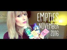 EMPTIES November 2016 | MICHELA ismyname ❤️