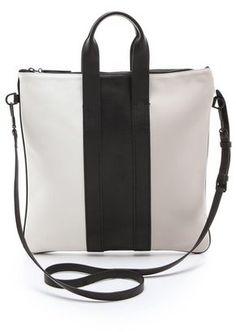 3.1 phillip lim Tricolor Slim Tote Bag at ShopStyle