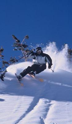 Take up snow skiing