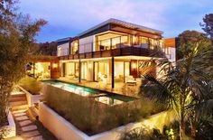 Green-Roofed LEED Platinum Butterfly Beach Home Opens Up to the Outdoors in Montecito, California | Inhabitat - Sustainable Design Innovation, Eco Architecture, Green Building