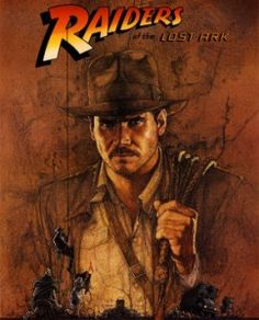 Raiders of the Lost Ark   i use to have a huge crush on Harrison Ford...first as Han Solo then as Indiana Jones