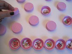 manumanie-kids: Giochi con i tappi di plastica Montessori