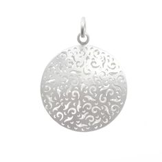 Open Pattern Disk Pendant Vail Colorado, Jewelry Design, Pendant, Pattern, Hang Tags, Patterns, Pendants, Model, Swatch