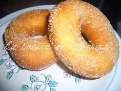 Easy Donut Recipe, Donut Recipes, Mexican Food Recipes, Cooking Recipes, Mexican Desserts, Mexican Sweet Breads, Mexican Bread, Great Desserts, Cookie Desserts