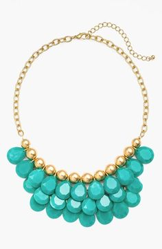 BP. Teardrop Bead Necklace (Juniors) available at #Nordstrom $24.00