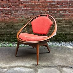 Ib Kofod-Larsen Selig Spindle Back Chair: click to enlarge
