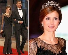 Nacoração do Rei Felipe VI da Espanha, o monarca dividiu as atenções coma Rainha Letizia (e as fofíssimasprincesinhas, cujos looks postei no meu Instagr