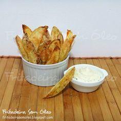 Batatas Rústicas na AirFryer - Fritadeira sem Óleo - AirFryer
