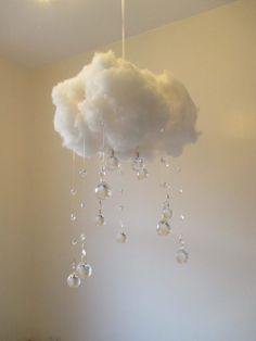 Crystal Cloud Mobile, Home Decoration - Truly Majestic crystal cloud light T. - Crystal Cloud Mobile, Home Decoration – Truly Majestic crystal cloud light This image has get - Cloud Night Light, Cloud Lights, Diy Cloud Light, Cloud Diy, Cloud Lamp, Cute Room Decor, Baby Room Decor, Room Lights Decor, Kids Room Lighting