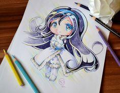 Chibi Swan Princess by Lighane on DeviantArt