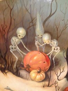 Brandi Milne Halloween art