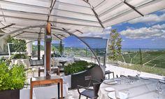 Il Boscareto - Serralinga d'Alba (+39.0173.613036) #ombrelloni #sunshades #multivalvola www.gardenart.it Piedmont Italy, Sun Shade, Resort Spa, Where To Go, Patio, Interior, Outdoor Decor, Boutique Hotels, Alba