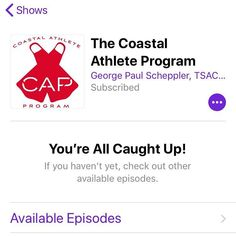 Our #podcast HAS BEEN CLEARED BY ITUNES! Now you can click the link and easily subscribe.  The Coastal Athlete Program is a podcast about the skills jobs and lifestyles of water rescue professionals. Swimming surfing paddle sports and diving are regular topics as well as interviews with rescue crews from around the world. Follow along with our free amphibious program on our website http://ift.tt/2lwCxIs  #fitness #education #fitnesseducation #optoutside #california #swiming #diving #kayaking…