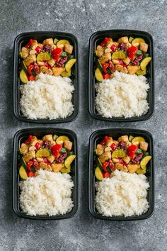 Skinny Slow Cooker Kung Pao Chicken makes the perfect easy and lightened up weeknight meal. Best of all, this takeout favorite, is SO much healthier and better than your local restaurant with just a few minutes of prep time. With gluten free and paleo friendly options. This is so much better and healthier! Weekly meal prep or healthy leftovers are great for lunch bowls for work or school.