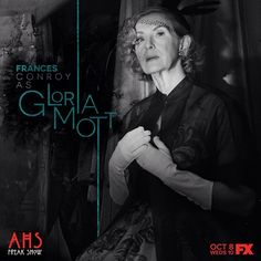 american horror story freak show American Horror Story Freak, American Horror Story Seasons, Ahs, Moira O Hara, Frances Conroy, Witch History, Character And Setting, Anthology Series, Horror Show
