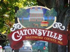 Catonsville has a small town feel.