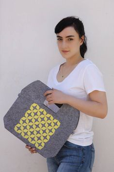 Laptop carrying case, Felt macbook sleeve, ipad case, Yellow laptop cover, 11 inch laptop case, Laptop decals, Tablet sleeve, Felt laptop,  #fashion #fashionblogger #bags #boho #bohostyle #tote #totebag #style #styleblogger #fashionista
