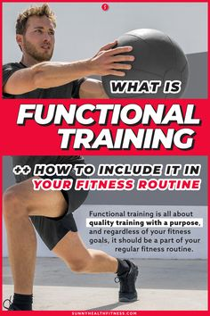 Functional training is all about quality training with a purpose, and regardless of your fitness goals, it should be a part of your regular fitness routine. Let's get to the bottom of what functional training is and how you can use it to improve your fitness routine. #sunnyhealthfitness #functionaltraining #training #functionalexercise #exercise