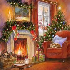 puzzle   Christmas Designs   Representing leading artists who produce children's and decorative work to commission or license.   Advocate-Art www.advocate-art.com450 × 451Buscar por imagen Jim Mitchell - WHS CARD 42 (A) PUSS revise.jpg Visitar página Ver imagen