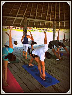 We love morning yoga at Zoetry Paraiso de la Bonta! #YourDreamDay