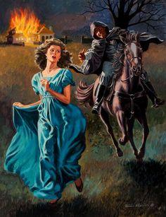American Art - Uldis KLAVINS: American Eden - Vintage Original Illustration Art
