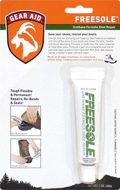 Freesole - repair worn soles of your shoes