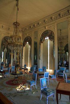 Versailles  Le Grand Trianon, a most livable grandly elegant house with a garden as its raison d'etre.