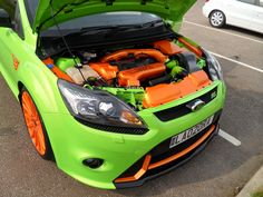 Another shot of Jason's stunning Ford Focus RS