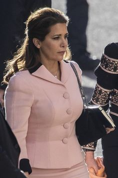 Princess Haya Bint al-Hussein arrives at the High Court on November. Princess Haya, Royal Princess, Jordan Royal Family, The Beautiful Country, Beautiful Places, Noblesse, Oxford, Daughter, Celebs