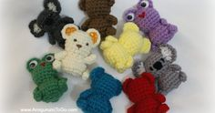 Lil' Trouble Teddy, These little guys are quick to make.They're a great little project to bring along to a doctor's apt or anywhere ...