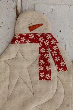 Snowman Table Runner | Craftsy