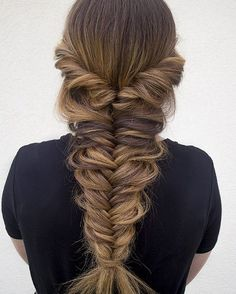 Fishtail Braids Hairstyles 1