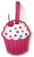 Cupcake bag-tag