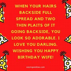 Romantic long distance happy brithday wishes for Wife, Girlfriend with Love lines. Send these #romantic messages to your Wife and express how much you love her. #happybirthday #wife #romantic #bdaywishes