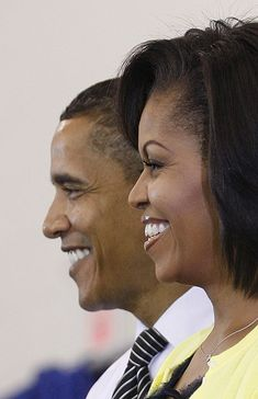 Barack and Michelle Obama